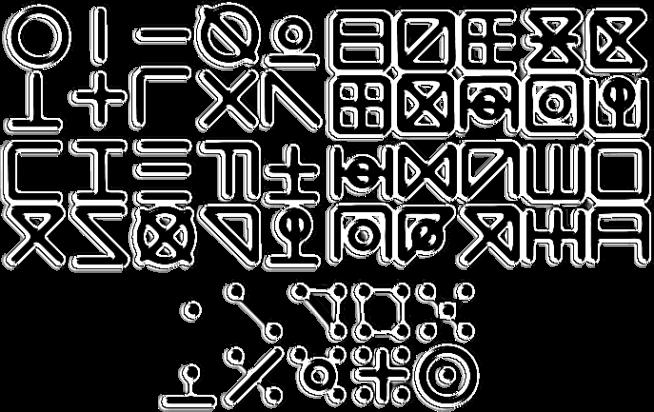 Zoalus Alphabet